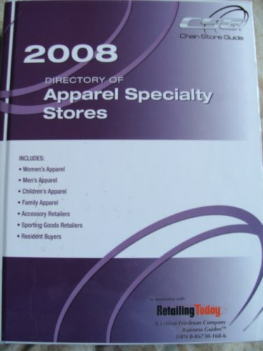 Directory of Apparel 2008 Specialty Stores (DIRECTORY OF APPAREL SPECIALTY STORES)