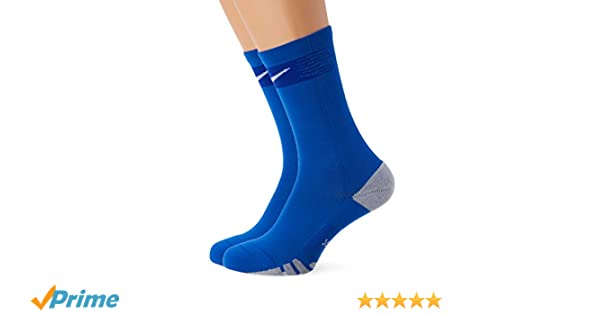 Nike Crew Sock Calcetin, Unisex Adulto, Royal Blue/Bright Blue/White, L