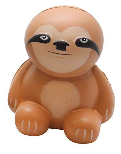 (Sloth Large Squishy Slow Rise Animal - Sensory, Stress, Squish Fidget Toy Memory Foam ADHD)
