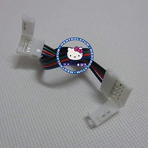 Gimax 100 pcs/lot 4pins RGB connector, strip connector, RGB connector, Double 4ins connector for RGB strip light