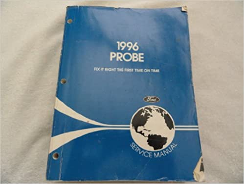 1996 ford probe service shop repair workshop manual oem factory.