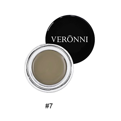 Eyebrow Cream, Natural Formulate, Waterproof and Long Lasting Eyebrow Pomade, Smooth Brow Makeup NetWeight0.74oz (Taupe#7)