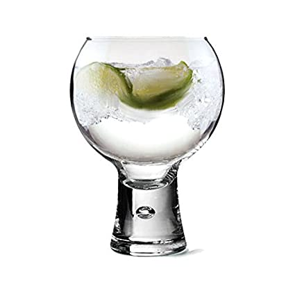 aa56e1630bb Personalised Thick Stem Gin Glass - 540ml Engraved Gift - Enter Your Own  Custom Text  Amazon.co.uk  Kitchen   Home