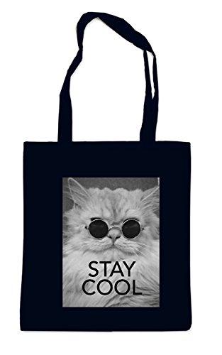 Stay Cool Cat Bag Black