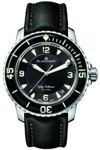 The perfect watch for a Capricorn: The Blancpain Fifty Fathoms