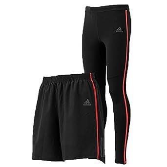 8860e89bf4ffd Amazon   ランニングパンツ ランニングタイツ 2点セット メンズ アディダス adidas ランニングウェア 男性 ジョギング トレーニング  マラソン トレーニング ジム ...