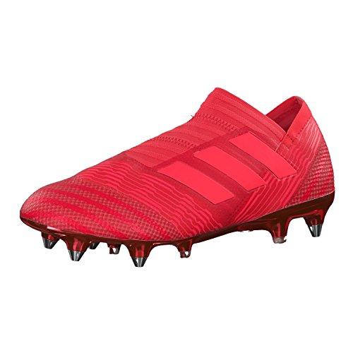 adidas Nemeziz 17+ SG, Scarpe da Calcio Uomo Rosso (Reacor/Redzes/Reacor Reacor/Redzes/Reacor)