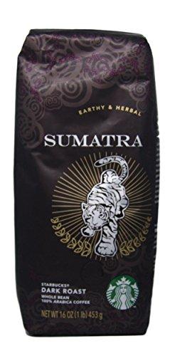 Starbucks - Apart Origin - Whole Bean Coffee - 16 oz - Pack of 2 (Sumatra)