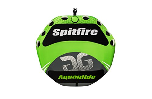 Aquaglide 585216611 Spitfire 80 Green 4-Person Inflatable Towable Tube ()