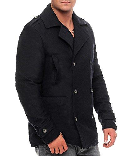 Oscuro Dewei Solid Jacket Azul Chaqueta Hombre SxYqw0w4a