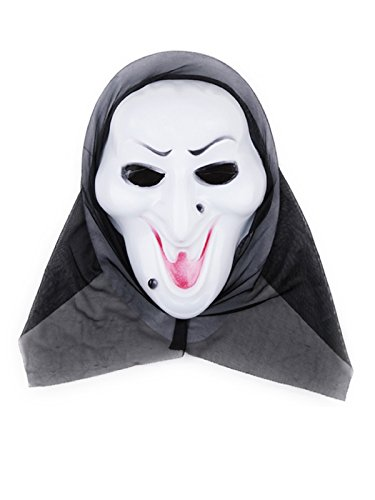 Century Star Creepy Scary Ugly Halloween Costume Party Funny Head Mask Witch One Size (Grease Female Characters)
