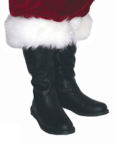 Professional Santa Boots Large (12-13) Costume Accessory -