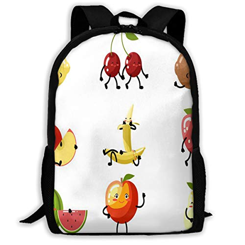 f33124ccca Backpack Fresh Fruit Cartoon Children Custom Personalized for Men