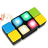 Musical Cube, Kids Cube Matching Game Like Rubik's Cube Fun Educational Music Cube Toy for kids Battery-Operated (Battery Included)