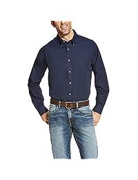 Ariat Men 's Big and Tall Classic Fit antiarrugas camisa
