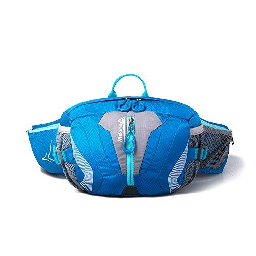 Freien Multifunktionstaschen Schulter / Camping Tasche Reit-blau