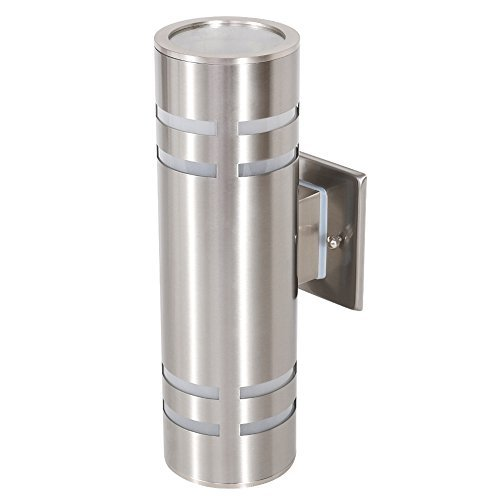 TENGXIN Outdoor Wall Sconce Waterproof Wall Light Fixture Porch Light,Wall Mount Light, Stainless Steel 304 Outdoor Wall Light, UL Listed, Suitable for Garden & Patio Lights ()