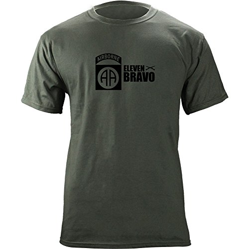 Airborne Division Bravo Infantry T Shirt
