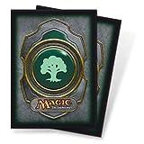 Ultra Pro The Magic the Gathering (MTG) Mana Deck Protectors - GREEN (80 Sleeves)