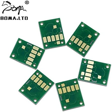 Pgi380 Pgi-380 Cli-381 Refill Ink Cartridge Compatible Chip for Can0n Pixus Ts6130 Ts8530 Ts7530 Ts8130 Printer Printer Spare Parts Type: Pgi-380 Chip 6 Color