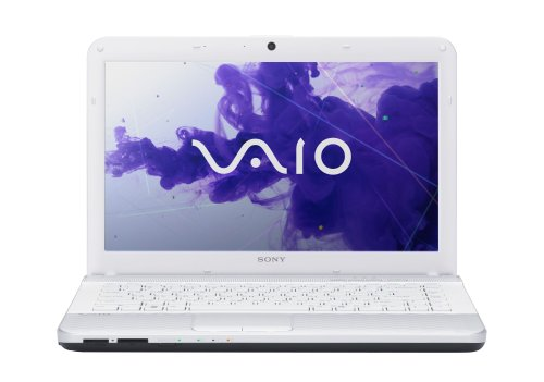 Sony VAIO VPCEG2DFX/W 14-Inch Laptop (White) (Sony Laptop 14 Inch I3)