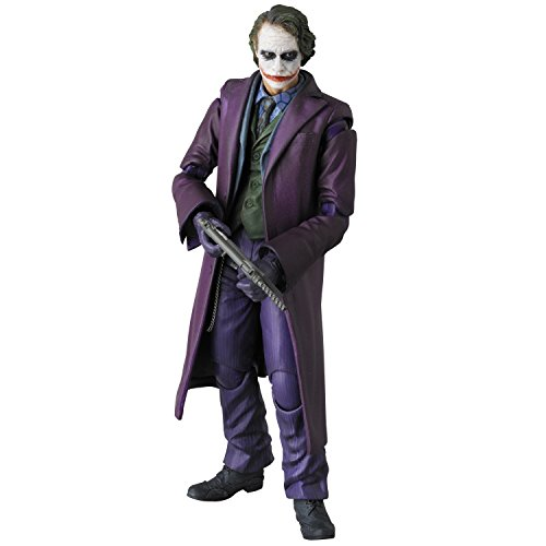 Medicom The Dark Knight: The Joker MAFEX Figure (Catwoman From The Dark Knight Rises)