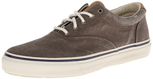 Sperry Top-Sider Striper Cvo - zapatillas de lona hombre, Marrón (Brown) Marrón (Brown)
