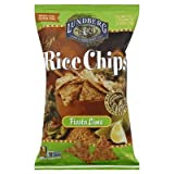 Lundberg Farms Fiesta Lime Rice Chips 6 Oz (Pack of 12) - Pack Of 12