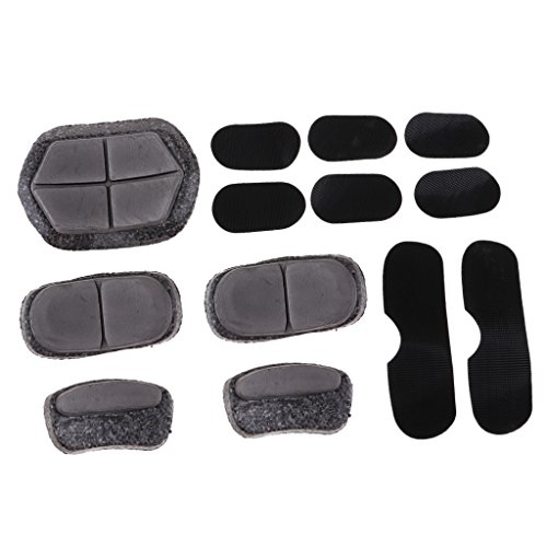 Baosity Comfortable Durable Replacement Foam Helmet Pads Universal Kit Bicycle Cycling Skating by Baosity