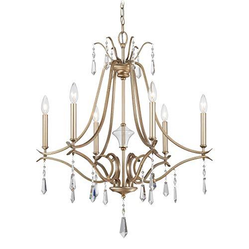 Minka Lavery Chandelier Lighting 4446-582 Laurel Estate, 6-Light 360 Watts, Brio ()