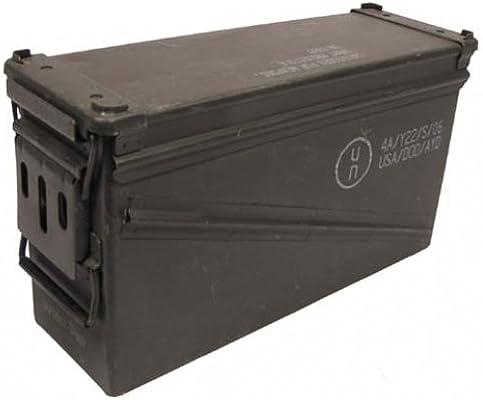 MFH usadas tamaño 5 US Army munición Caja 46 x 15,5 x 25 cm caja ...