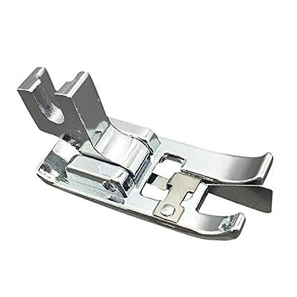 Para máquina de coser Universal con tornillo de bajo filo coser prensatelas pies/pie para
