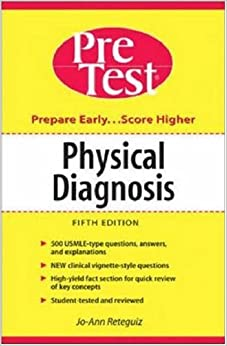 Book Physical Diagnosis: PreTest Self-Assessment and Review (Pretest Clinical Science)