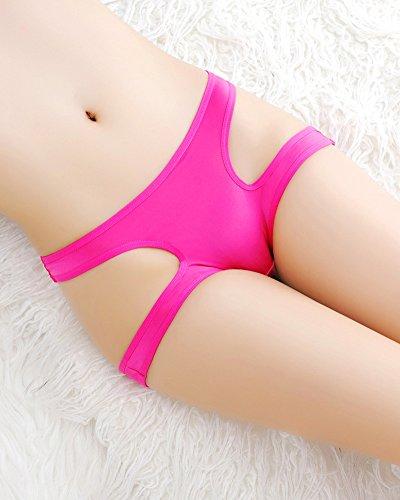 Tangas de Mujer Calzoncillos Cintura Baja Tanga Ropa Interior Bragas Rose