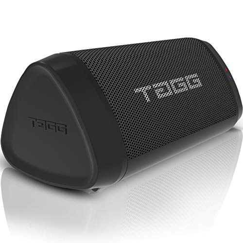 TAGG Sonic Angle 1 Portable Wireless Bluetooth Speaker with MIC IPX5 Water Resistant    2 x 5W Powerful Speakers    3.5mm AUX Support    Supports Google Assistant and SIRI
