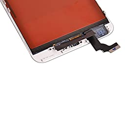 OEM White LCD Display Touch Digitizer Screen Assembly Replacement for iPhone 6 Plus 5.5\