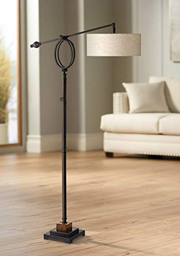 Henley Adjustable Boom Arm Floor Lamp by Uttermost (Boom Arm Floor Lamp)
