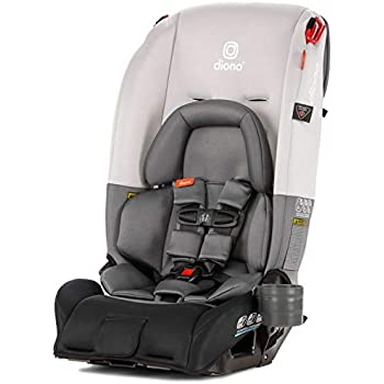 Diono Radian 3RX All-in-One Convertible Car Seat, Light Grey