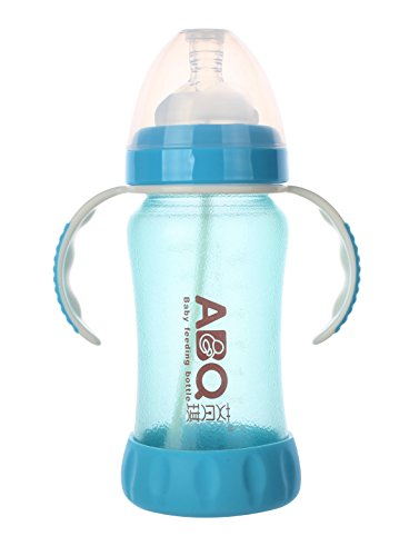 MYKUFENG Natural Baby Bottle丨Wide Mouth Automatic Temperat