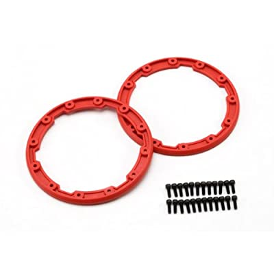 Traxxas 5667 Red Sidewall Protectors (pair): Toys & Games