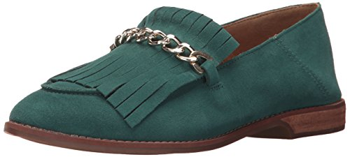 Franco Sarto Women's Augustine Loafer Flat Harbor Green