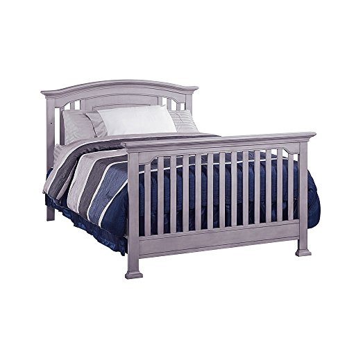 Full Size Conversion Kit Bed Rails for Baby Cache Chesapeak, Medford, Riverside & Windsor Cribs - Gray by CC KITS (Image #7)