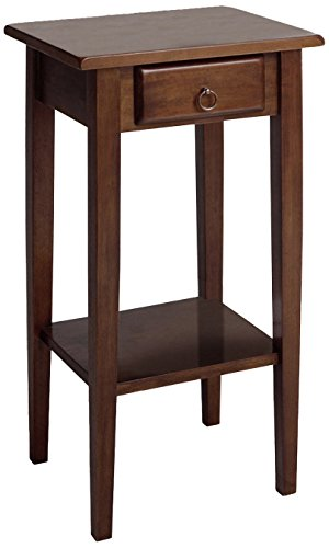 Winsome Wood Phone Stand, Walnut (Telephone Table Stand)