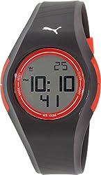 Puma Women's PU911191007 Black Rubber Quartz Watch