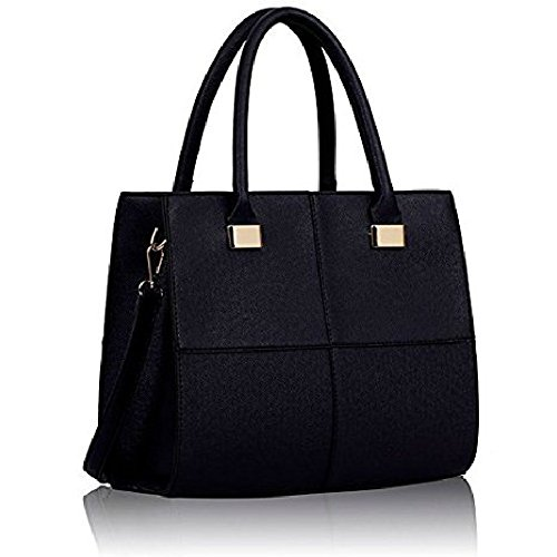 Style Tote Bag Navy Ladies Handbag Satchel 4 Celebrity Style Women Leather Celebrity Shoulder Style Crossbody Satchel xBwHaq1Uw