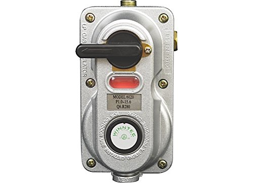 - Enerco F173766 Propane Auto Changeover Two Stage Regulator Clamshell