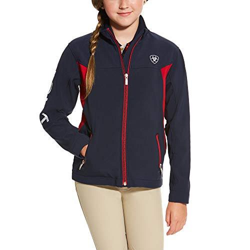 ARIAT Kid's New Team Softshell Jacket Navy Size Small