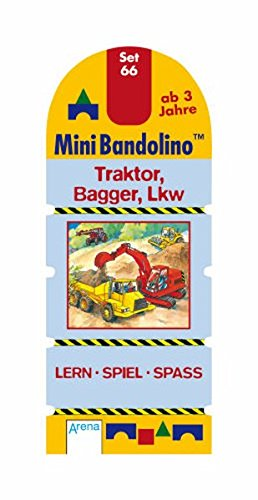 Traktor Bagger LKW: Mini-Bandolino Set 66