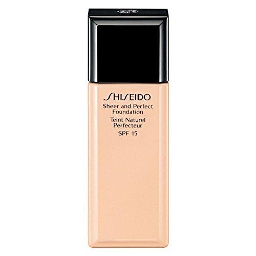 Shiseido Sheer and Perfect Foundation I40 Natural Fair Ivory