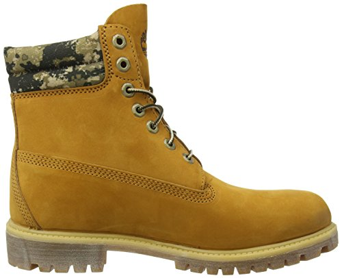 in FTB Double Boot Alte 6 Sneaker Marrone Marrone Uomo Boot in Timberland Collar 6 Grano caFWqngS